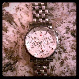 Michele Sport Sail Diamond watch.